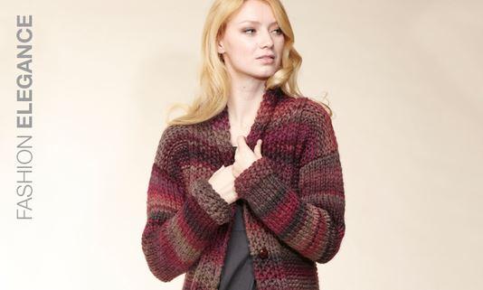 Fashion Elegance Garn, Wolle zum Stricken und Häkeln, Rico Design