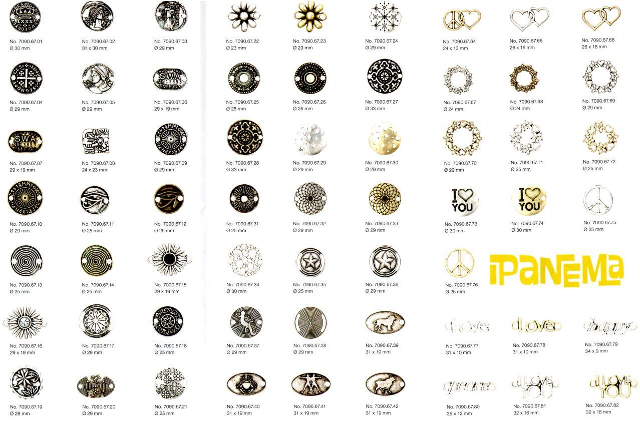 Rico Design, Wechselschmuck, Ipanema, Schmuckgestaltung, Lederarmbänder