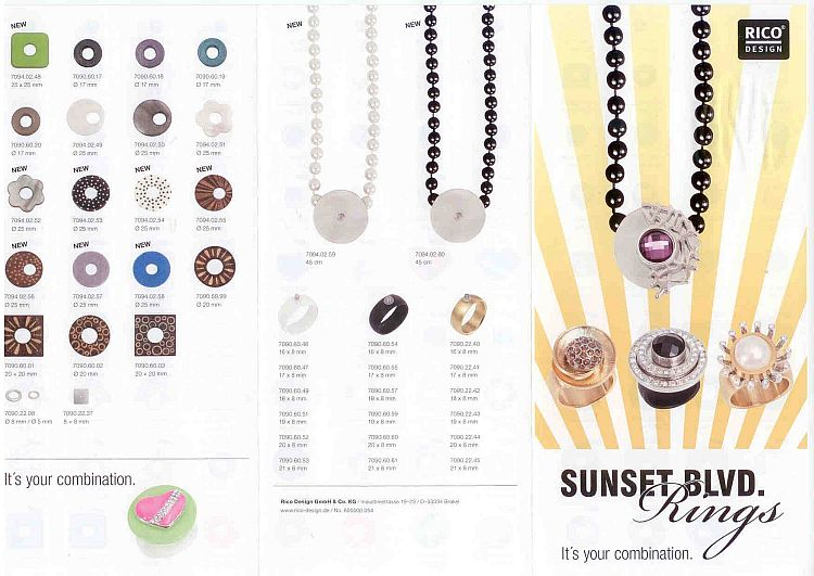 Sunset Blvd. Neue Kollektion Oktober 2012, Rico Design