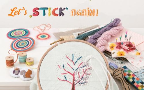 Lets stick again, Sticken mit Rico Design